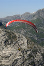 Free Paragliding Over Mountains Royalty Free Stock Photo - 1378055