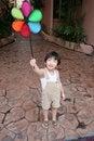 Free Boy & Windmill Stock Image - 1378241