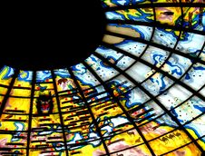 Free Stained Glass Ceiling Royalty Free Stock Images - 1370409