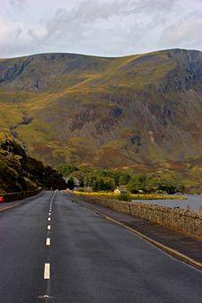 Free Road To Snowdonia Royalty Free Stock Photo - 1370435