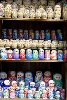 Free Babushka Russian Toy Stock Photos - 1371223