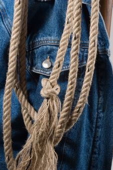 Free Cowboy Rope Stock Photography - 1372232