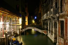 Free Venice At Night Stock Photos - 1373273