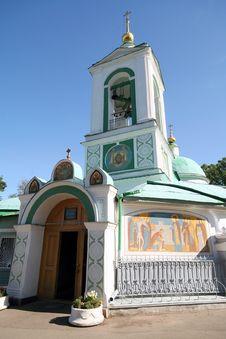 Free Church Of Prophet Elias 3 Royalty Free Stock Photos - 1374318