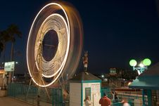 Free Ferris Wheel At Night Stock Photos - 1374783