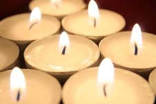 Free Candles Stock Photography - 1375022