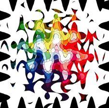 Free Rainbow Colour Jungle Royalty Free Stock Image - 1376046