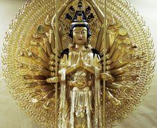 Free Goddess Buddha Royalty Free Stock Photos - 1376218