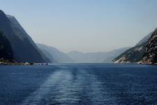 Free Lysefjord Stock Photography - 1376692