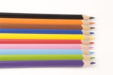 Free Assorted Pencils Royalty Free Stock Photo - 1377615