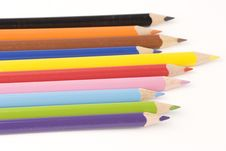 Free Assorted Pencils Royalty Free Stock Photography - 1377627
