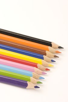 Free Assorted Pencils Stock Images - 1377744