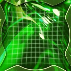 Free Green Abstract Background Royalty Free Stock Photography - 1378357