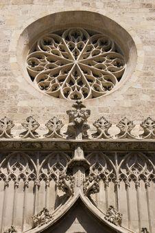 Detail At Santa Maria Stock Photography
