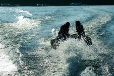Free Tubing On Lake Royalty Free Stock Photo - 1378965