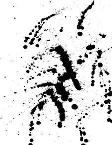 Free Ink Splat Stock Photography - 1378992