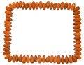 Free Almonds Frame Royalty Free Stock Photo - 13707295