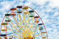 Free Ferris Wheel With Blue Sky Stock Images - 13707364