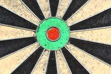 Free Old Dartboard Royalty Free Stock Images - 13700039