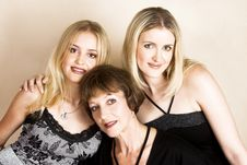 Free Mother And Daughters Stock Photography - 13700462