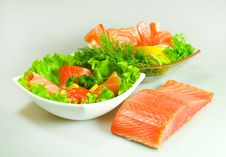 Free Salmon Royalty Free Stock Image - 13700626