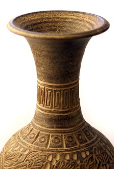 Free Top Of Carved Vase Royalty Free Stock Photos - 13701078