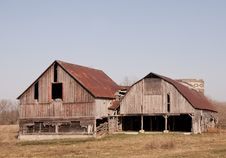 Free Abandoned Barn Royalty Free Stock Images - 13701149