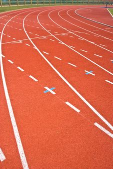 Free Running Track Stock Images - 13701244