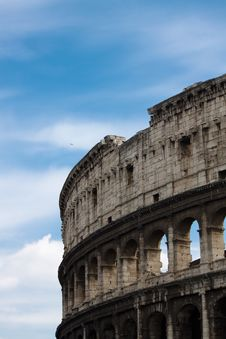 Free Colosseum Royalty Free Stock Image - 13701416