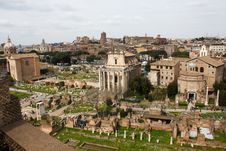 Free Rome Forum Royalty Free Stock Photography - 13701617