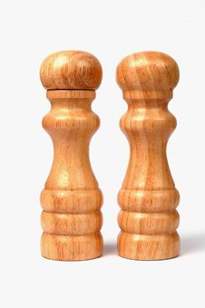 Free Two Wooden Figures Royalty Free Stock Photo - 13701655