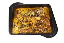 Free Baked Food On The Tray Royalty Free Stock Photos - 13701718