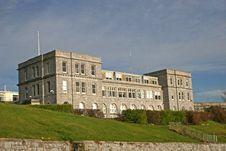 Free Plymouth Citadel Royalty Free Stock Photo - 13701935