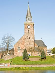 Old High Church Inverness In Spring Time. Royalty Free Stock Photo