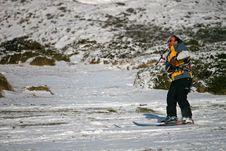 Free Kite Skier Stock Images - 13702004