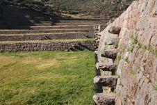 Ruins Of Machu Picchu Stock Image