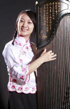 Chinese Musician Royalty Free Stock Photos
