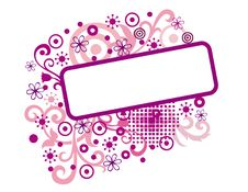 Free Pink Banner Stock Images - 13702984