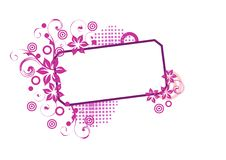 Free Pink Banner Royalty Free Stock Photography - 13702997