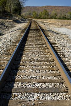 Free Southern Railroad Tracks Stock Image - 13703191