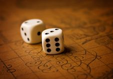 Free Pair Of Dice Stock Photography - 13703262
