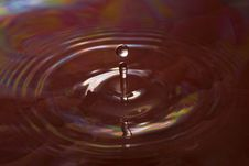 Free Red Water Drop Royalty Free Stock Photos - 13703298