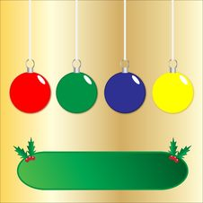 Free Christmas Baubles Stock Photography - 13703682
