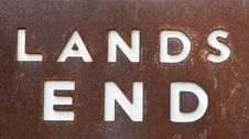 Free Lands End Stock Photo - 13703790