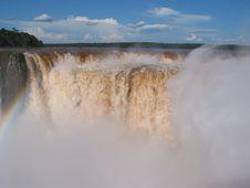 Free Iguassu Waterfalls Stock Image - 13703951