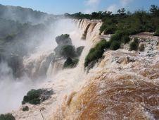 Free Iguassu Waterfalls Stock Image - 13703981