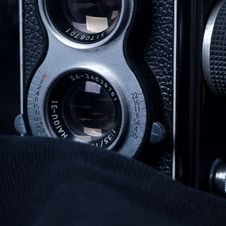 Free Old Camera Royalty Free Stock Image - 13704136