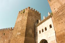 Free Fortifications Of Rome Royalty Free Stock Photos - 13704178