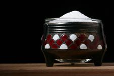 Free Salt In A Saltcellar Royalty Free Stock Photos - 13704268