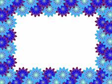 Free Frame With Flowers Stock Photo - 13704380